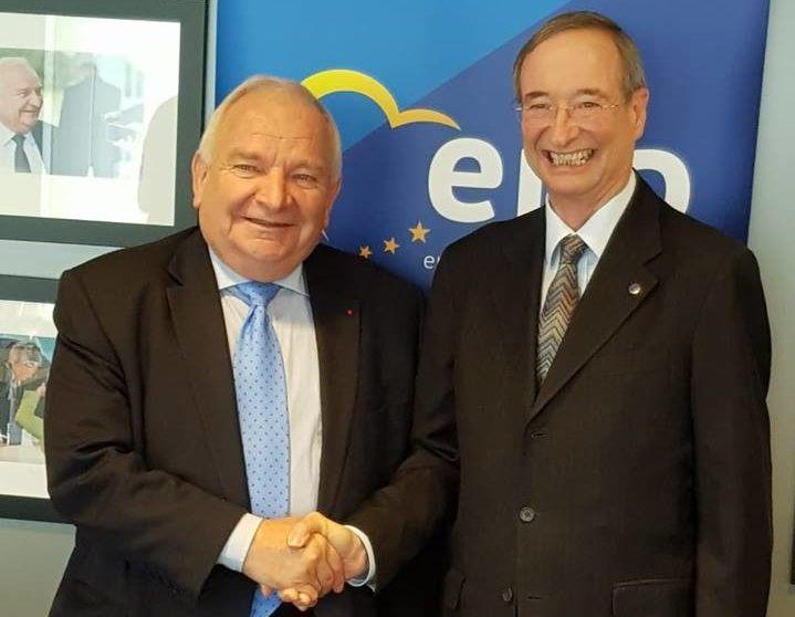 29 January: Meeting with Joseph Daul, President of the EPP