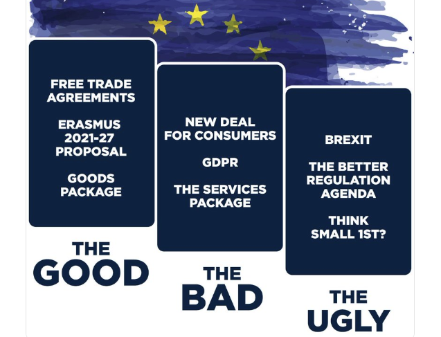 16 April: The Good, the Bad and the Ugly of the 2014-19 EU Term